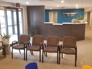 Chiropractic Richlands VA Front Desk and Waiting Room